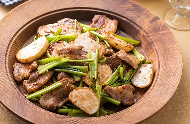 かぶ 豚肉 レシピ