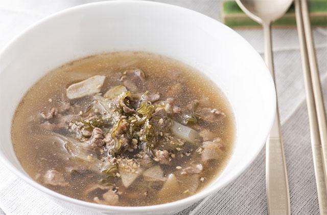 めかぶスープ