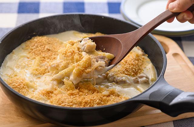 グラタン レシピ マカロニ